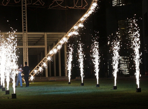 Image 5 - ti powder titanium metal powder for stage cold spark fountain fireworks machine