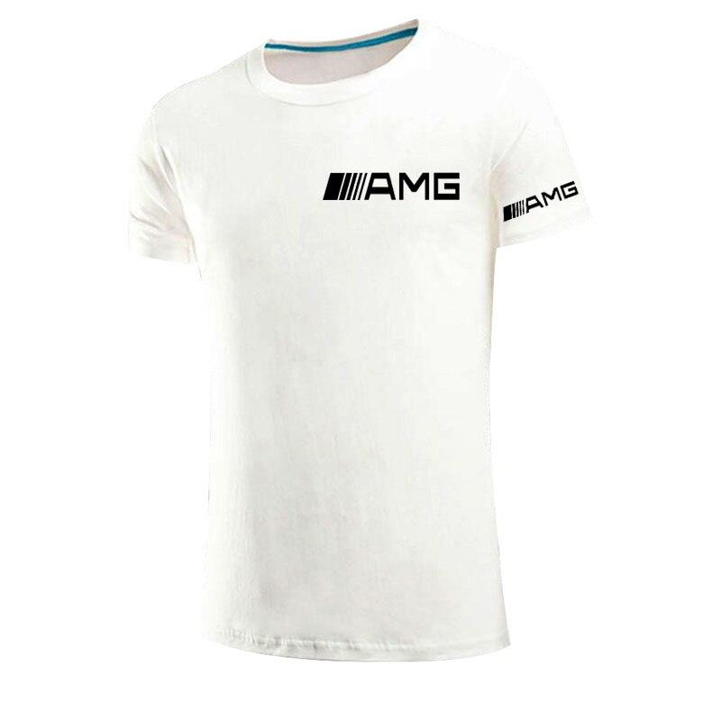 2021 neue high street AMG sommer kühlen T-shirt männer kurzarm casual T-shirt sport T-shirt Oansatz T-shirt straße hip-hop top