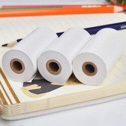 Бумага для печати, белая термобумага, 57x30 мм, 10 лет, бумага для хранения бумаги, мобильный принтер ANG/PeriPage, 6-Pack