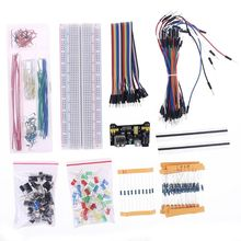 Module-Resistor Beginner Power-Supply Kit-Accessories Electronic-Component-Set for Arduino