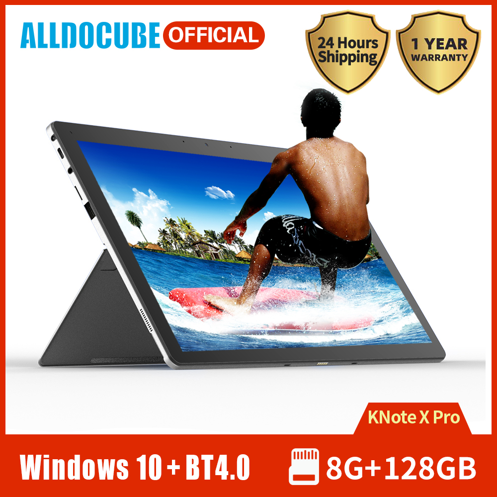 Alldocube Knote X Pro Windows 2 In 1 Table 13.3 Inch IPS Screen Intel N4100 Quad Core 8GB RAM 128GB SSD Windows 10 Wifi Laptop