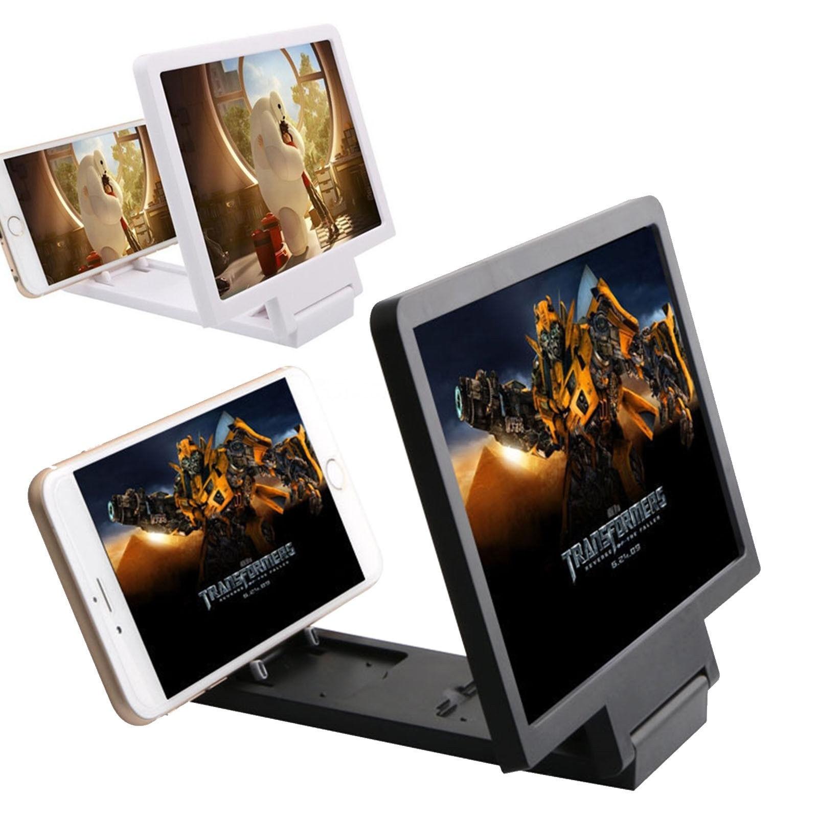 1pcs 14inch 3D Enlarged Screen Mobile Phone Amplifier Magnifier Bracket Cellphone Holder