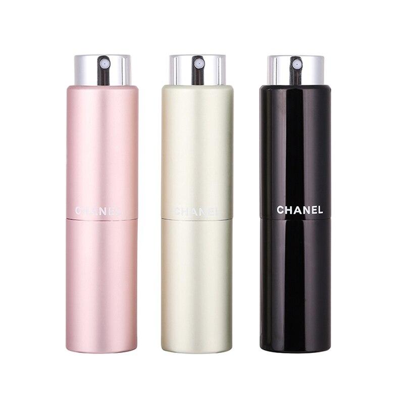 5ml 8ml 20ml metal aluminum refillable perfume bottle cosmetic spray bottle portable empty bottle travel sub-bottle liner glass 1