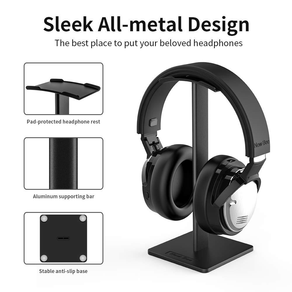 Fejhallgató állvány fülhallgató tartó alumínium tartó rúd - Hordozható audió és videó - Fénykép 4