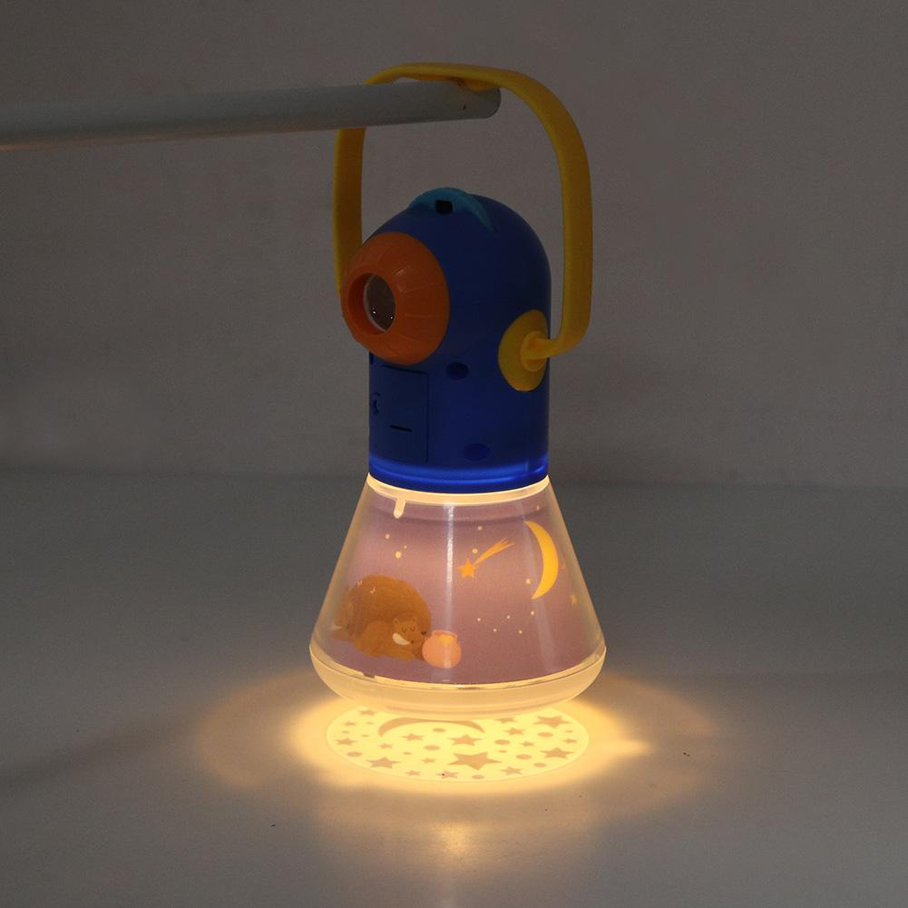 Story Projector Flashlight Baby Sleeping Lamp Child Light up Toys Sleep Light
