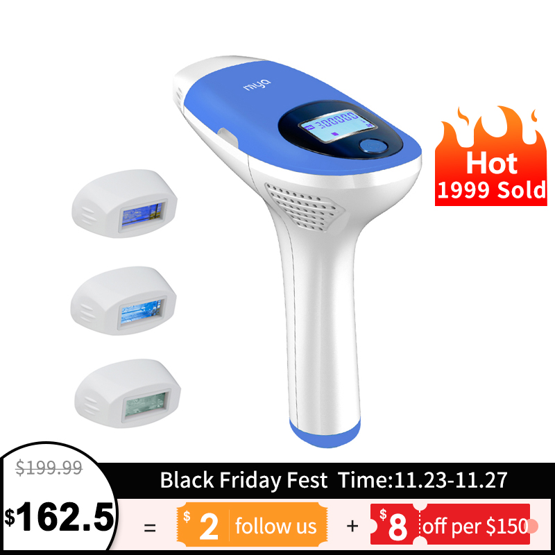 Epilator Hair-Removal-Machine Laser Mlay Ipl Permanent Electric 500000 Flashes Body Face