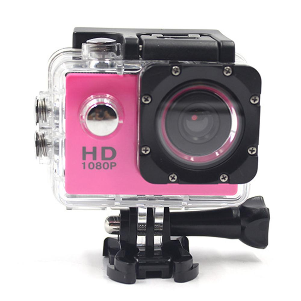 1080P ​Outdoor Sport Action Mini Camera Waterproof Cam Screen Color Water Resistant Video Surveillance Underwater Camera