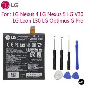 Lg オリジナル交換電話バッテリー BL-T9 lg ネクサス 4 5 lg オプティマス g プロ lg レオン V30 L50 BL-T5 BL-T34 BL-48TH BL-41ZH
