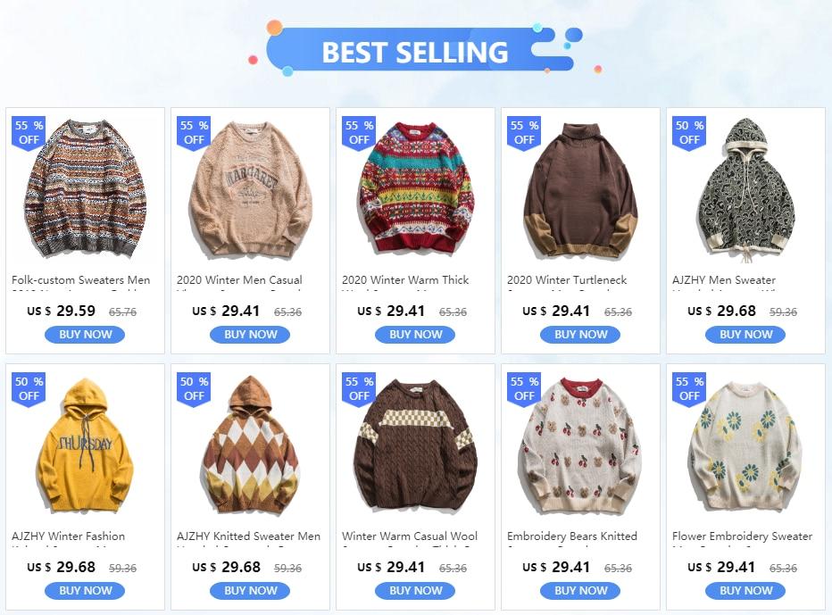 2020 Fashion Korean Striped Mens Sweaters Casual Winter Sweater Men Hip Hop Knit Pullover Men Big Sizes Mens Sweater Jacket Top Patroticrap