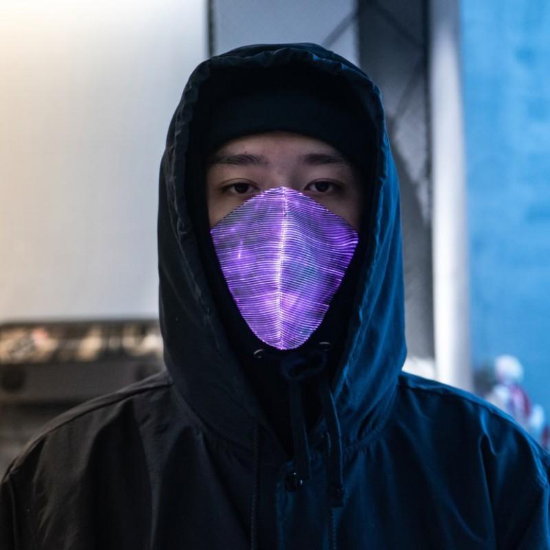 LED Anti Dust Mask Flashing LED Mask Colorful Luminous Men/ Women Light Up Masks For Raves/ Parties/ Carnival/ Masquerade