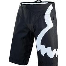 2019 Troy Fox Motocross Mountain Bike Black White Sprint Adult Shorts MTB BMX DH Racing Downhill Gear