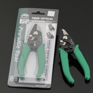 Quality assurance Pro'sKit 3 holes 8PK-326 Fiber Optical Stripper Stripping Cable Tool Made in Taiwan