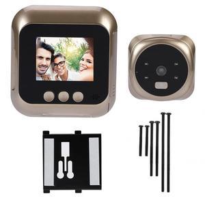 Image 1 - 2.4 Inch HD Screen Display Home Smart Doorbell Security Camera Electronic Door Viewer mirilla doorbell camera
