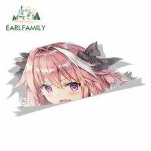 Earlfamily 13Cm X 7.1Cm Auto Stickers Voor Astolfo Fate Grand Order Peeker Peek Anime Vinyl Jdm Auto Styling cartoon Decal