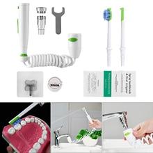 Home Water Flosser SPA Faucet Oral Irrigator Water Jet Denture Teeth Cleaning Machine