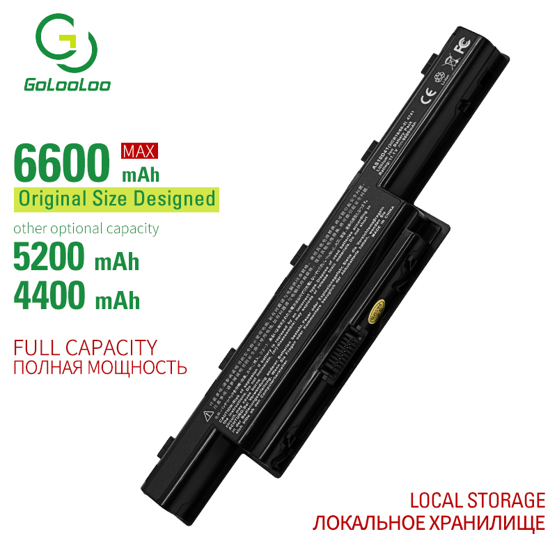 Golooloo 6 cells laptop <font><b>battery</b></font> for <font><b>Acer</b></font> <font><b>Aspire</b></font> 5742ZG 5749 5749Z 5750 <font><b>5750G</b></font> 5750TG 5750Z 5750ZG 5755 5755G 5755Z 5755ZG 7251 image