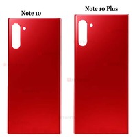 galaxy note New For Samsung Galaxy Note 10 Battery Cover Door Back Housing Rear Case For Note 10 Plus Glass Battery Door+Adhesive Sticker (2)