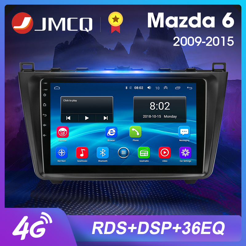 2DIN <font><b>Android</b></font> 8.1 2G+32G Car <font><b>Radio</b></font> Audio Multimedia Player For <font><b>Mazda</b></font> <font><b>6</b></font> Rui wing 2007-2012 Navigation GPS Head Unit Support BOSE image