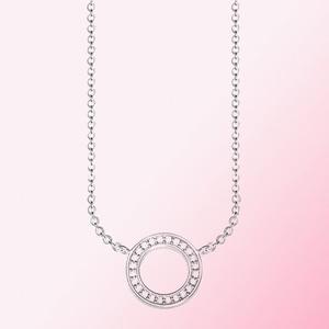 Image 3 - 2019 100% 925 סטרלינג כסף קלאסי לבבות של שרשרת נשים קסם אופנה תכשיטי אישיות משלוח חינם סיטונאי