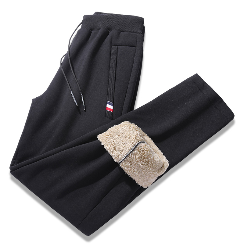 Plus Size 5XL 6XL 7XL 8XL Men Thick Warm Sweatpants 2019 Winter New Streetwear Slim Fit Track Pants Male Trousers Men Clothing