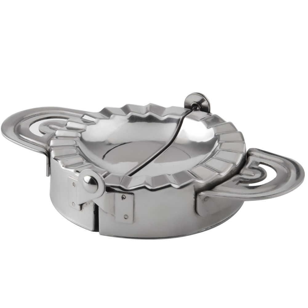 Кулинарный пиероги из нержавеющей стали, резак для теста, DIY инструменты, форма для пирога, простое использование, кухонный кондитерский пельменный аппарат, обертка
