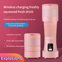 450ML Portable Blender Mixer Cooking Appliances Foods Six Knives Processor Food Mixers Smoothie Blenders Cup Juicers Kitchen