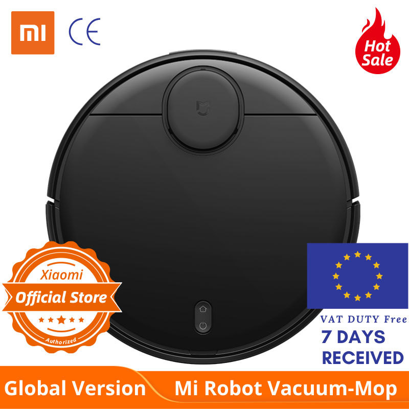 Global Version Xiaomi Styj02ym Mi Robot Vacuum Cleaner Mop Pro & Sweep 3 Mode LDS Laser Navigation 2100Pa Care Of Wooden Floor
