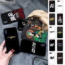 MaiYaCa AK47 Gun Coque Shell Phone Case for iPhone