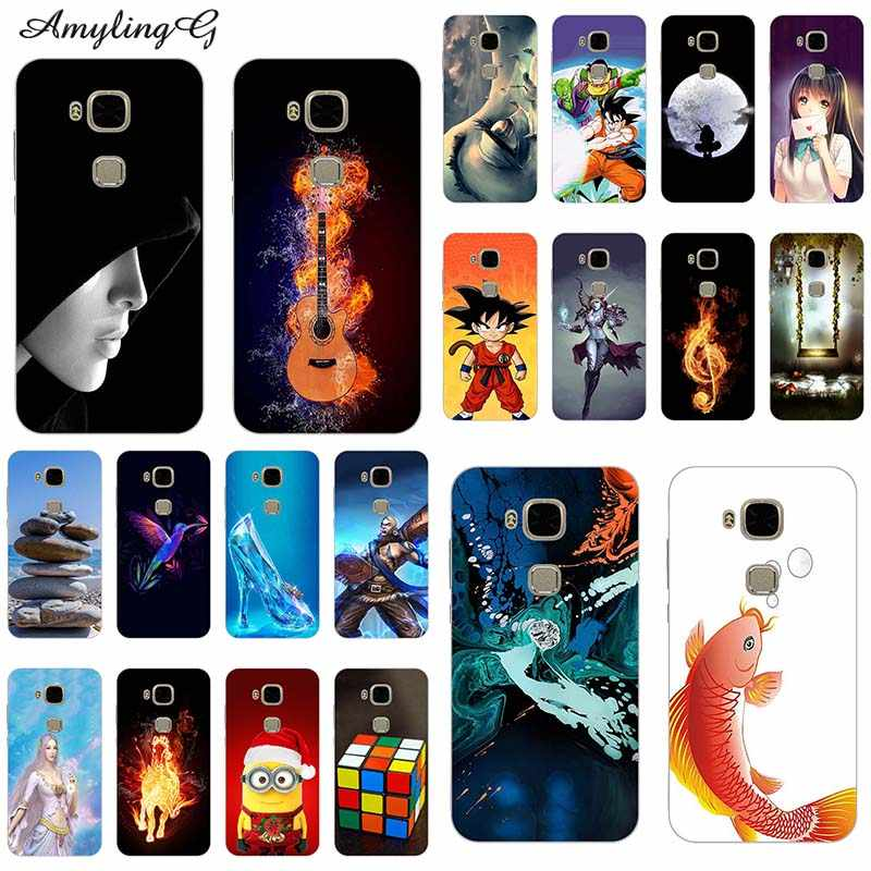 Phone Case For Huawei G8 GX8 D199 G7 Plus RIO L01 L02 TPU Cover Print For Huawei GX8 G8 Soft Silicone style For Huawei G7 Plus