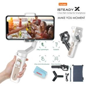 Hohem Isteady X Gimbal 3-Axis Opvouwbare Stabilizer Handheld Gimbal Voor Iphone Voor Xiaomi Smartphone Pk Smooth X Dji osmo