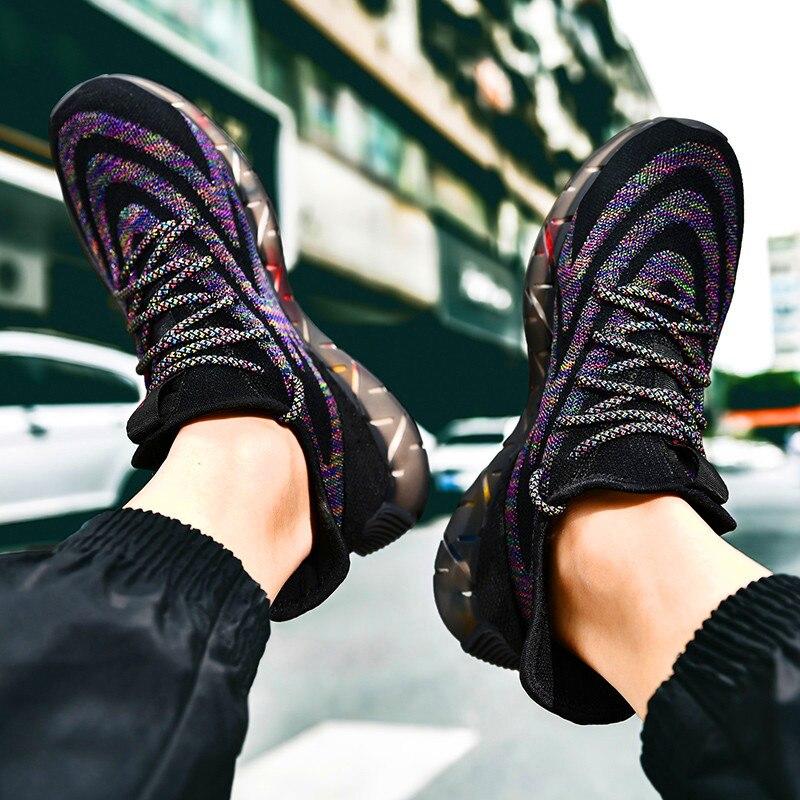 2020 zapatillas nuevas informales ultraligeras para hombre, zapatos deportivos de moda informales, zapatos clásicos de hombre de alta calidad Sandalias de mujer, nuevos zapatos de verano, Sandalias de tacón 44 de talla grande para mujer, zapatos de cuña, sandalias informales de gladiador para mujer