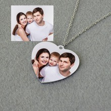 Custom Picture Necklace,Personalized Photo Necklace,Engraved Photo Necklace,Family Keepsake,Mother Gifts,Valentines Day Gift u7 100% 925 sterling silver heart shape engraved personalized custom photo pendant necklace mother s day gifts for lovers sc83