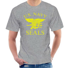 Us Navy Seals T-shirt-Retro Us Air Force Marines Fancy Dress Mens Gift Top 100% Katoen Brief Gedrukt T shirts @ 007517