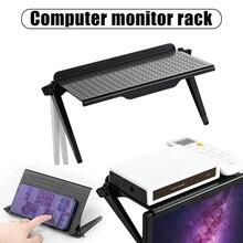 Monitor komputerowy stojak składany półka TV, pudełko Router półka dekoder uchwyt wspornika Mini PC odtwarzacz DVD wieszak stojący PW