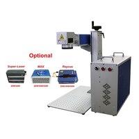20w 30w 50w separated fiber laser nameplate Marking machine Super laser Max Raycus Fiber laser metal laser engraving machine
