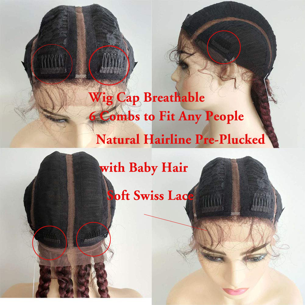 Box Braided Wig 6