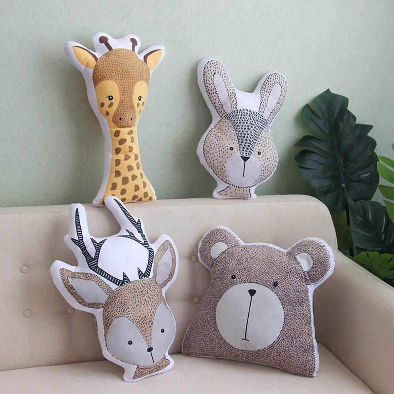 2019 schöne Neue Wald Tier Kissen niedlichen Kissen plüsch spielzeug gefüllte Begleiten Puppe Weihnachten Geschenke für kinder