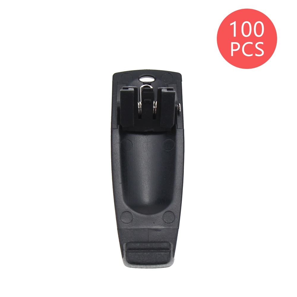 100Pcs Walkie Talkie Belt Clip For LINTON LT-3188 LT-2188 LT-2268 LT-3268 LT-3260 EIERWEI VEV-3288S