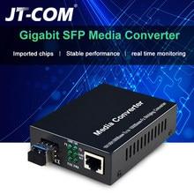 1 ГБ SFP волоконно-оптический медиаконвертер RJ45 1000 Мбит/с SFP волоконный коммутатор с модулем SFP совместимый с Cisco/Mikrotik/Huawei