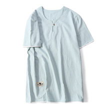 Casual Short Sleeve SUMMER TShirt letter print round neck T-Shirt Top Short Broadcloth pink blue