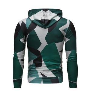 Image 2 - Camouflage Kerst Hoodies Mannen 2019 Grappige Schedel Rijden Auto 3D Gedrukt Hooded Sweatshirts Heren Hip Hop Hipster Streetwear Mannelijke