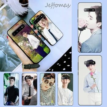 Корейский мужской чехол со звездами идолом ли Чен для телефона Samsung S6 S7 edge S8 S9 S10 e plus A10 A50 A70 note8 J7 2017