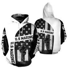 Tessffel Америки морской камуфляж череп солдата армии костюм NewFashion пуловер сайту 3dprint унисекс на молнии/толстовки/кофты/куртки-16
