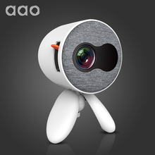 AAO YG220 Mini Projector YG300 YG310 Update Version Portable Pocket Cute Projector Video Player Kids Gift HDMI USB 3D LED Beamer
