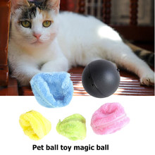Rouleau magique électrique interactif automatique pour animaux de compagnie, 5 pièces, jouets à mâcher molaires pour chiens et chats