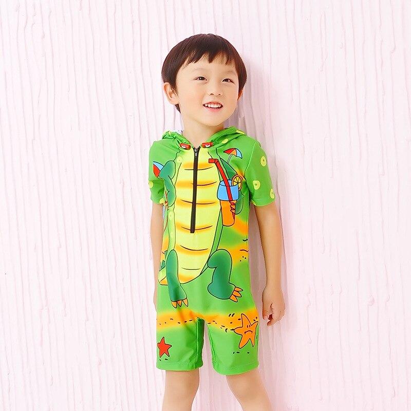 KID'S Swimwear BOY'S Baby Tour Bathing Suit Little Prince One-piece Cute Cartoon Ultra-stretch Quick-Dry Beach Set Fashion