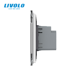 Image 4 - Livolo EU Standard  New Series Wall Touch Switch,1 Gang 1Way Touch, AC 220 250 ,4 colors options,plastic key