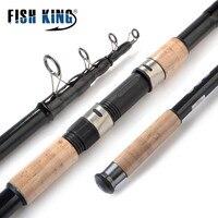FISH KING Hi Carbon Carp Rod 3 M 3.3 M 3.6 M 3.9M 4 SEC 3.5LB 3.8MM/32.5MM Saltwater Telescopic