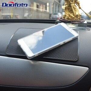 Doofoto 1x Автомобильная наклейка для внутреннего интерьера Противоскользящий коврик для Renault Abarth Opel SAAB Daewoo Alfa аксессуары Romeo Стайлинг приборной панели