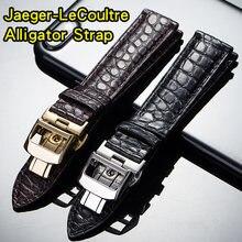 Ремешок из натуральной крокодиловой кожи для jaeger le coulter